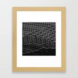 Pattern Madness Framed Art Print