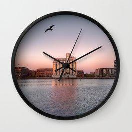 Copenhagen Sunset Wall Clock