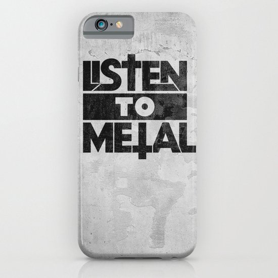Listen to Metal iPhone & iPod Case