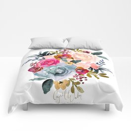 Autumn Rose Comforters