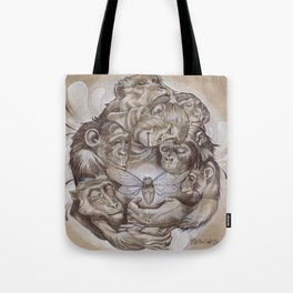 Protecting the Delicate Things Tote Bag