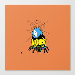 Spider Queen Canvas Print