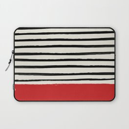 Red Chili x Stripes Laptop Sleeve
