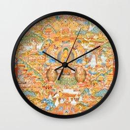 Mandala Buddhist 14 Wall Clock