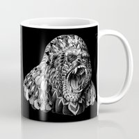 bioworkz Mugs featuring Gorilla by BIOWORKZ