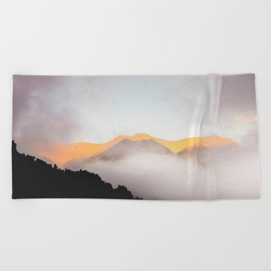 Hidden Treasure Mountain Beach Towel