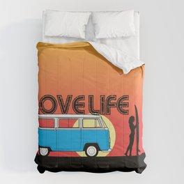 Love Life - Surf Van Comforters