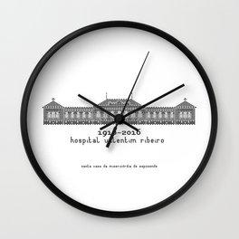 HexArchi - Portugal, Esposende, Hospital Valentim Ribeiro Wall Clock