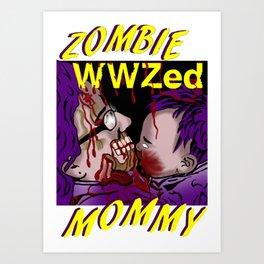 WWZed Art Print