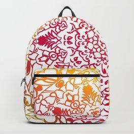 heart mandala Backpack