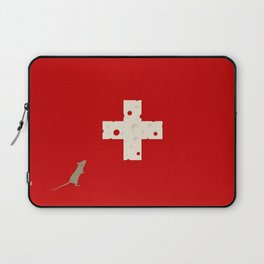 Swiss Cheese Flag Laptop Sleeve