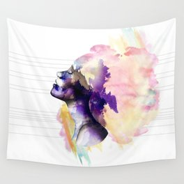 Take a breath Wall Tapestry