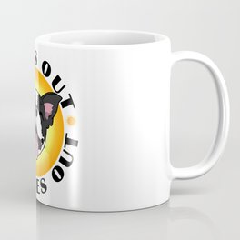 Sun's out - Tongues out (Boston Terrier) Coffee Mug