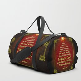 For to us a child is born . . . Duffle Bag