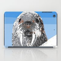walrus iPad Cases featuring Walrus by wingnang