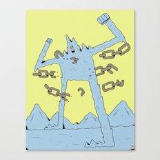 The Peak Canvas Print