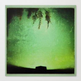 Lushy Green Canvas Print