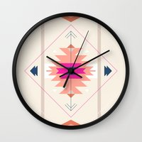kilim Wall Clocks featuring Kilim Inspired by Nayla Smith