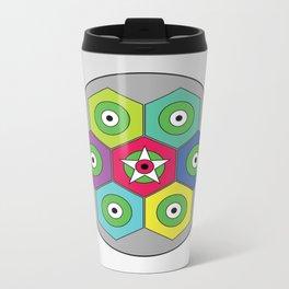 graphic Metal Travel Mug