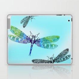 Dragonflies and Blue Skies Laptop & iPad Skin