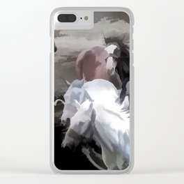Breaking Free  -  Wild Horses Clear iPhone Case