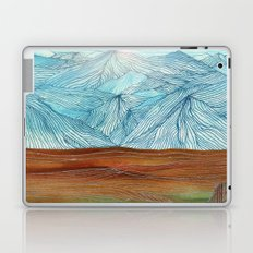 Lines in the mountains XI Laptop & iPad Skin