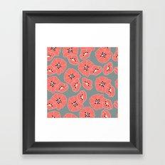 Retro bloom 002 Framed Art Print