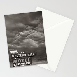 Western Hills- Black and White Stationery Cards