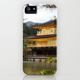 The Golden Pavilion (Kinkaku-ji) iPhone Case