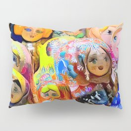 A Gaggle of Girls Pillow Sham