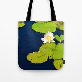 Dark Blue Pond by Teresa Thompson Tote Bag
