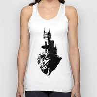 castle in the sky Tank Tops featuring Castle by Julia Badeeva