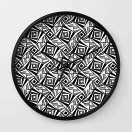 Black & White 4 Wall Clock