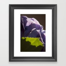 Whispers of happiness Framed Art Print