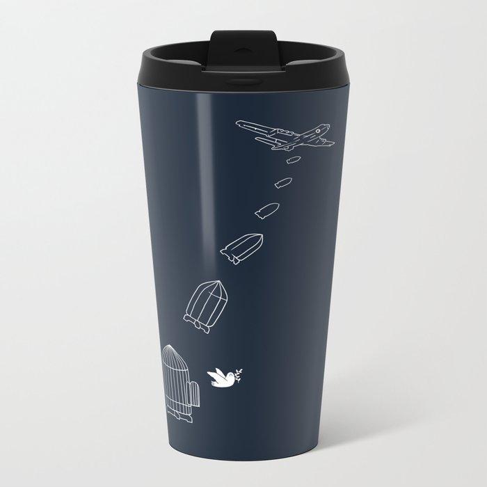 Peace Bomber Metal Travel Mug