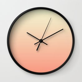 The fall gradient Wall Clock
