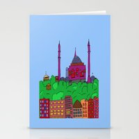 istanbul Stationery Cards featuring Istanbul by andy_panda_