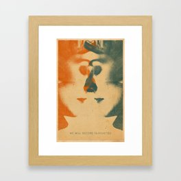 We Will Become Silhouettes Framed Art Print
