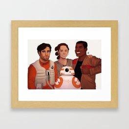 The New Trio Framed Art Print
