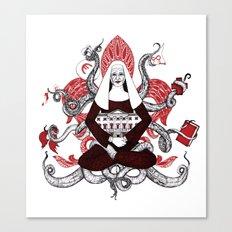 Assumpta the Octonun Canvas Print