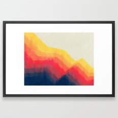 Sounds Of Distance Framed Art Print