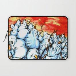 Snowman Apocalypse Laptop Sleeve
