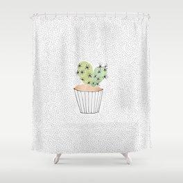 Cactus II Shower Curtain
