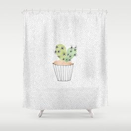 Cactus II Shower Curtain