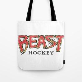 Beast Hockey Vintage Logo Tote Bag