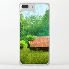 Obed Shack Clear iPhone Case