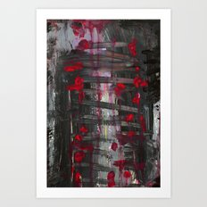stitches Art Print