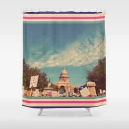 021 | austin Shower Curtain