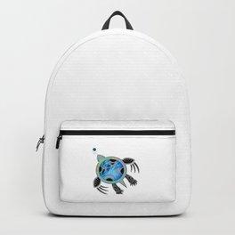 Painted Sea Turtle Backpack