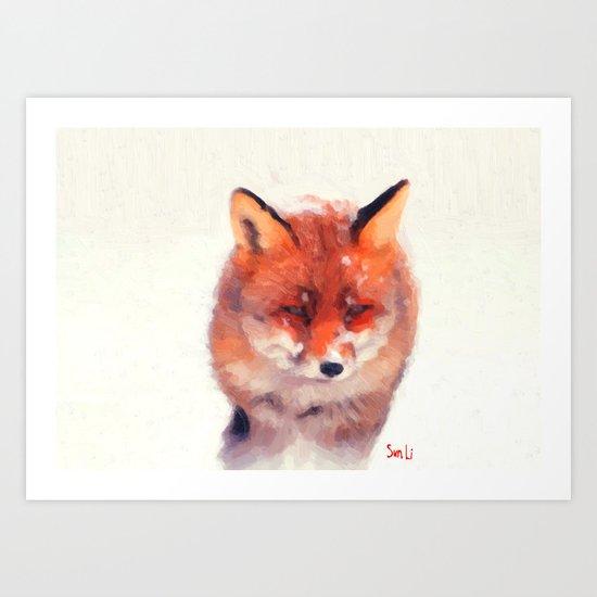 The Fox Art Print